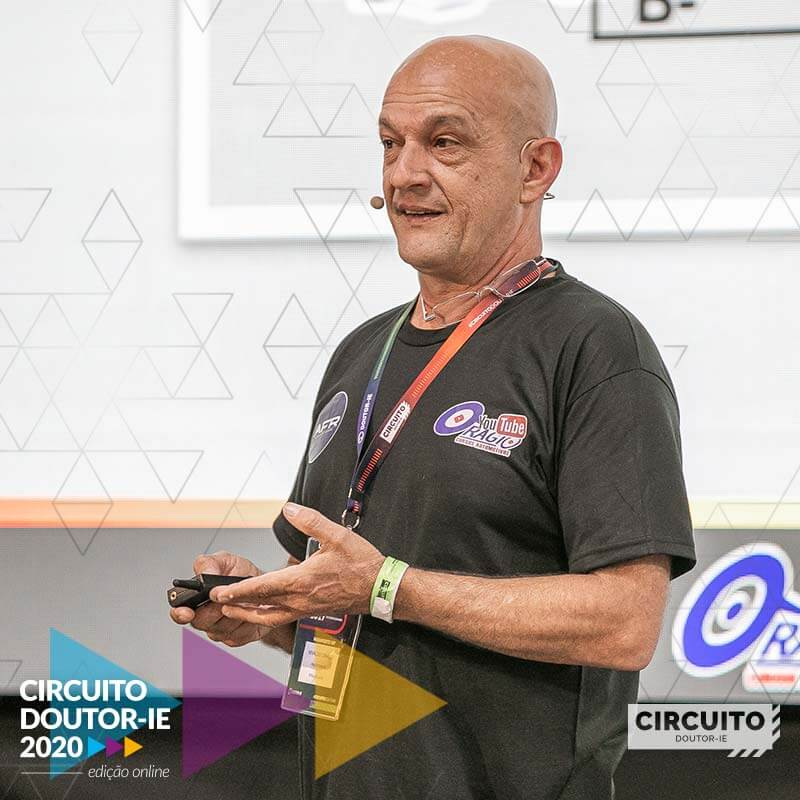 Nivaldo Orágio Cursos - Palestrante do Circuito Doutor-IE 2020